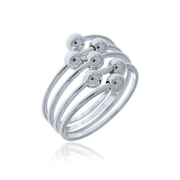 Sterling Silver Ring by Flow by Onatah